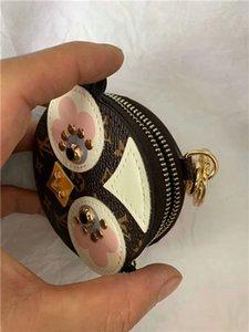 Самый последний бренд брелок дизайнер проектирует высококачественную кожаную дамскую сумочку брелок брендовая упаковка коробки