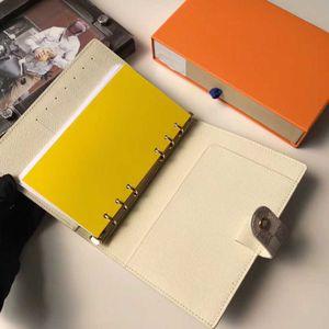 Blumenmappe louls SMALL RING AGENDA COVER Designer der Frauen der Männer mit Kasten Notebook Kredit