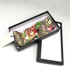 Seta Designer fascia Box Confezione regalo designer di accessori per capelli per l'alta qualità made Designer fascia floreale Slik tropicali Testa Wraps
