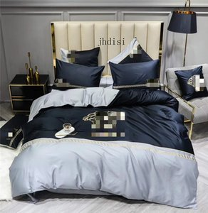 NEW Come Bedding Set 4 Pieces Special Pattern Style Reactive Print Duvet Cover Pillowcase Bedsheet Home Decor