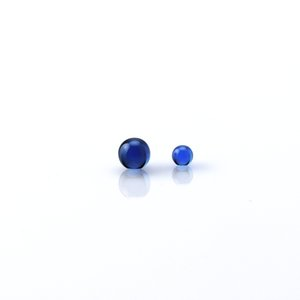 4mm 6mm 8mm Sapphire Pearls Insert Ball Piece With Terp Pearls For Quartz Banger Nail Glass Water Bongs Oil Rigs
