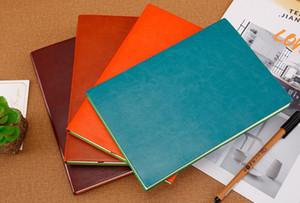 일간 일정 메모 학교 사무 용품 창조적 인 선물 일간지 저널 문구에 대한 A5 고대 빈티지 가짜 가죽 커버 노트북