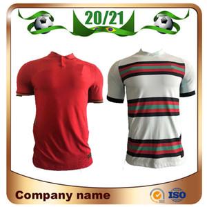 20/21 Versão do jogador # 7 Ronaldo Soccer Jersey 2021 Home # 23 Joao Felix Camiseta Moutinho J.Mario Away Futebol Uniformes