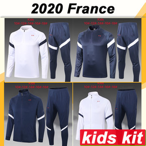 2020 FRANCE Jacket kids Kit Soccer Jerseys New National Team MBAPPE GRIEZMANN Tracksuit Child Suit Training Wear Football Shirt Top