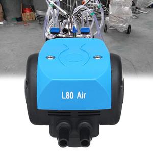 İnekler Keçi Koyun Sütü ayıklanıyor sütçü Ekipmanları Aksesuarlar Gaz L80 Hava Pulsator Dairy Farm Taşınabilir İçin Pompa Sağım Makinesi