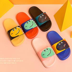2020 новый летний Горячие продажи- Фруктовые тапочки для взрослых детей домой обувь мальчиков девочек ванна тапочки детей милый пляж родитель-ребенок