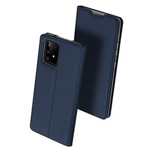 Flip en cuir pour Samsung Galaxy S20 Ultra S10 plus Remarque 10 Plus A71 A51 A41 A31 A21 5G A11 A01 A30s A20S A10S Wallet Card Case