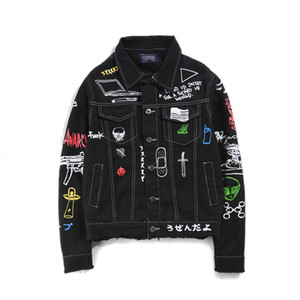 Mens Designer Denim Jacket Men Women High Quality Casual Coats Fashion Brand Mens Skull street fashion brand men's clothing