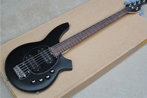 free shipping music bass,5 string electric bass,green\blue\black bass,basswood body,,chrome hardware,active battery case