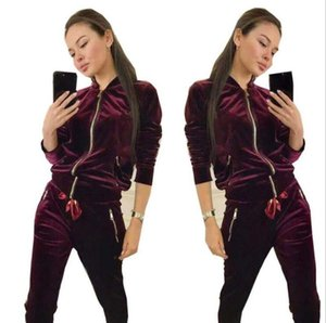 2020 Designer Tracksuit women Fashion Sweat Suits Autumn Brand womens Tracksuits Jogger Suits Jacket + Pants Sets Sporting Suit Print
