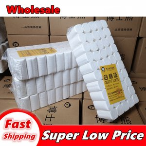 Wholesale In Bulk White Wood Pulp Quality Toilet Paper 4 - Layer Solid Paper Is Very Good Toilet Papers Rolls Tissue 002