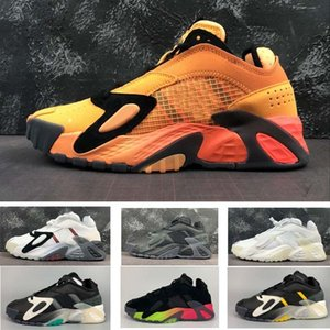 2020 newest Streetball Late 90s Rainbow Gradient Midsoles Men's Basketball Shoes Trainer Sport Sneaker size 40-46