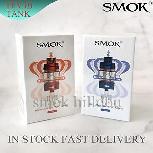 SMOK Ile TFV16 Alt-ohm Örgü Tankı TFV16 Örgü Çift Örgü Bobinleri Üst Dolum 9 ml Kapasiteli V16 Atomizer Pyres Cam Tüp 100% Otantik