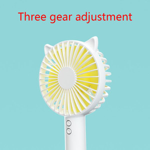 2020 New Creative Mobile Phone Bracket Usb Handheld Fans 3 Speed Adjustable Cooling Fan