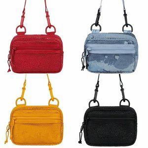 Diseñador transparente de malla de bolsos de la playa del hombro de las mujeres forman el bolso de bolsas de mano organizador del recorrido de las mujeres de gran capacidad del bolso de la Cruz Body Bags