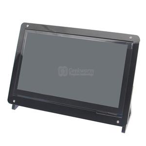 Freeshiping Raspberry Pi Акриловый чехол / держатель для Raspberry Pi 3 модель B доска 7-дюймовый экран | Чехол для Pi 3 7-дюймовый сенсорный экран / дисплей