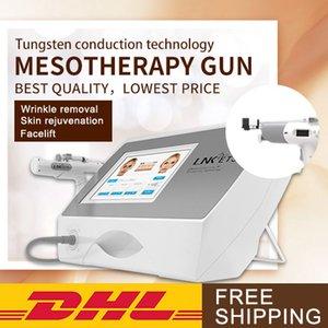 equipamento de Mesoterapia sem agulha agulha de cuidados da pele agulha mesoterapia sem injeção navio livre dispositivo DHL para a clínica da pele