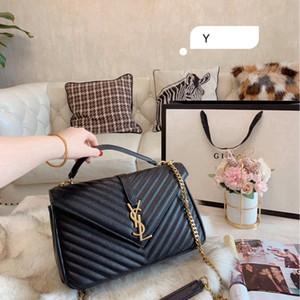 di lusso in pelle donna Borsa donne catena frizione borsetta in pelle in pelle crossbody modo della spalla - 0903