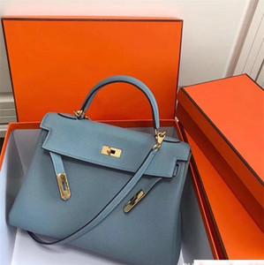 Qulity Vera pelle 35CM 30CM 25CM 2018 Borse a tracolla grande marca Totes con il commercio all'ingrosso di lusso donne di blocco Lady vacchetta Handbag Factory