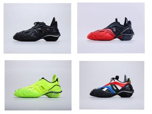 2020 classic Paris 5,0 Tyrex Sneaker Bicol O Rubbeer / Mesh / non lavare nero degli uomini di modo del progettista delle donne scarpe casual di alta qualità