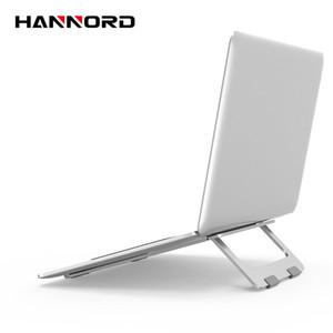 Dobrável Laptop Stand alumínio ajustável desktop Tablet Titular Posto de mesa móvel suporte do telefone Para Notebook