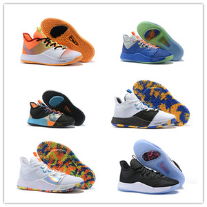 2019 Miglior Nuovo PG 3 PlayStation Toro All-Star OKC PS March Madness The Road Master Scarpe da basket Paul George III PG3 3s EUR 40-46