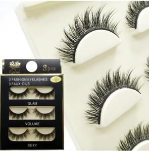 3D 밍크 헤어 거짓 속눈썹 16 스타일 수제 아름다움 두꺼운 긴 부드러운 밍크 속눈썹 가짜 눈 속눈썹 속눈썹 무료 배송