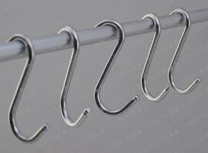 Organização Hot Housekeeping 7,5 centímetros de cozinha pendurado gancho rack Início Roupa titular gancho ganchos de aço inoxidável