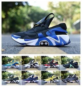 Adaptar 2020 Huarache corredor azul de los zapatos corrientes de la Armada de los hombres blancos negros de aire Huaraches zapatillas Diseñador Huraches Marca Hurache formadores estadounidenses 7-11