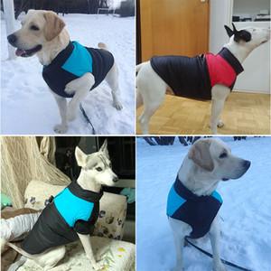 Toptan Yüksek Sınıf 2020 Kış Sevimli Hayvan Köpek Sıcak Giyim Moda Yumuşak Kalınlaşmak Big Dog Pamuk Giyim Küçük Köpek S-5XL Giyim Ceket