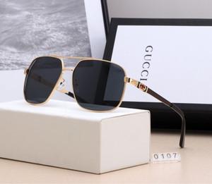 Alta dell'annata degli uomini degli occhiali da sole di marca Qualità Designer Classic Sun gg occhiali signore Black Eyewear Oculos De Sol Occhiali UV400