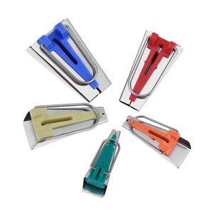 5 Pz cucito Accessori Bias Tape Maker Set Patchwork Strumenti 6/9/12/18/25 Mm Bias Binding Tape Maker