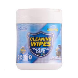 no tejido 100pcs alcohol Wet Wipes limpia de enfermería de tejidos de protección limpia la piel Telas