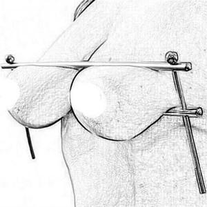 새로운 스테인레스 스틸 젖꼭지 클램프 금속 가슴 클립 페티쉬 구속 SM, BD 섹스 장난감 여성의 유방 반디 제품 성인 노예 게임