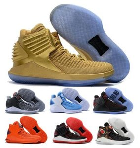 Sapatos Basquete Masculino vôo 32 32s Mens ouro chineses Ano Novo Finale Jumpman XXXII alta qualidade 2020 New Zapatos Formadores Sapatos Sneakers