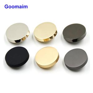 100 шт / много 10 мм высокого класса повелительниц способа grament кнопки золотого металла Экологичные пальто швейных кнопки для костюма текстильных аксессуаров