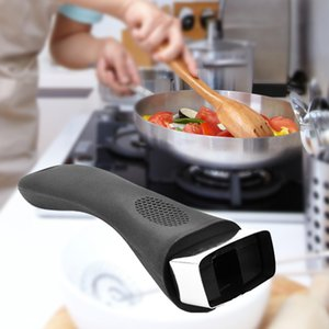 Bakélite Grip Anti Scalding ergonomique remplacement durable Ménage Accessoires de cuisine longue Universal Pot poignée Démontable