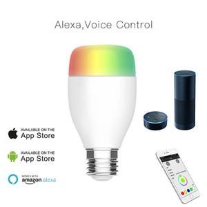 Smart WiFi sans fil lampe d'ampoule, LED RGB Color Changing, E27 E26 B22 7W 9W Compatible avec Alexa et Google Accueil adjoint, No Hub requis