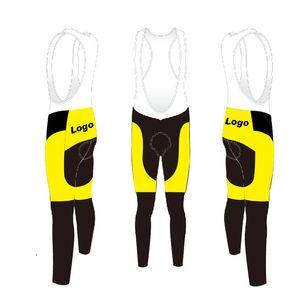 2020 özelleştirme Erkekler Windproof Bisiklet Önlüğü pantolon Sıcak Bisiklet Önlüğü Pantolon Kış Termal Dağ Bisikleti Pantolon Bisiklet Tayt Coolmax tutun