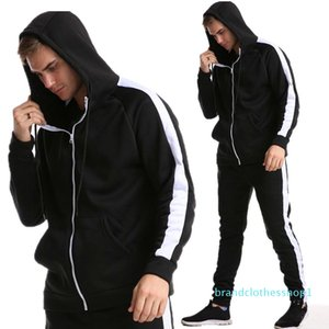 mens designer hoodie Cardigan Sweater Male Sports Suit Leisure Men Lian Hoodie