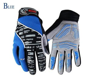 NEW Winter Bicycle Full Finger Gloves Black or Blue Color Size M - XL Cycling Bike Gloves Full finger windproof gloves riding equipment