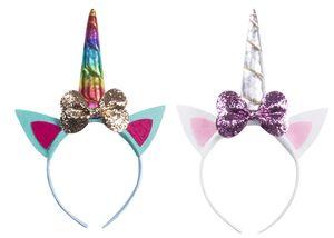 The Newest and Hotest Girl Party Headband Christmas Decorative Magic Unicorn Headband Role Playing