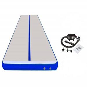 Ücretsiz Kargo En Kalite Mavi 4x1x0.2 m Pembe Şişme Hava Parça Şişme Satılık Takla Parça Şişme AirTrack