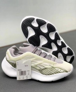 700 Shoes V3 Luminous Grey Kanye West Basquetebol 3M OG Glow in Designer escuro forma Athoetic Sports executando Sneakers