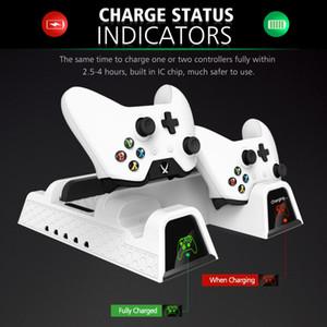 Venta caliente OIVO Dual Controller Charger para Xbox ONE Cooling Vertical Stand Games Almacenamiento Estación de acoplamiento de carga para Xbox ONE / S / X Console fr