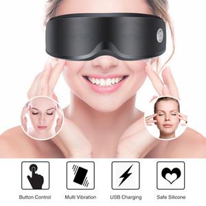 Appareil de massage électrique Vibration yeux Soins des Yeux rides fatigue Soulager Magnétothérapie Acupuncture Massage Lunettes Lunettes