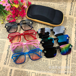 bonito do olho de gato crianças óculos de sol de marca de 2020 crianças meninas meninos da criança óculos de sol Infantil