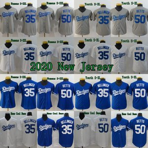 2020 New Season 50 Mookie Betts Jerseys 35 Cody Bellinger Mens Womens Youth 100% Stitched Baseball Jerseys Cheap Fast Shipping