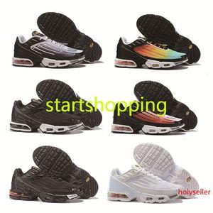 Конструкции 2019 плюс ФН III степени 3 runing обувь мужчины женщины кроссовки за обновлениями черный белый ТН ультра тренеров элитные беговые кроссовки размер 36-45