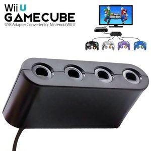 Gamecube controller adattatore per Wii U e 4 porte nero Super Smash Bros adattatore Gamecube per Wii U, PC USB, Switch